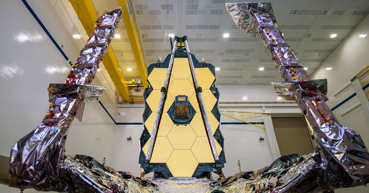 NASA Finally Assembled The James Webb Space Telescope