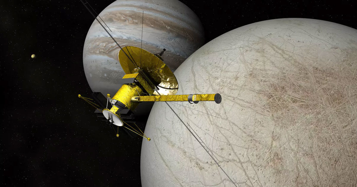 NASA is Sending a Probe to Jupiter's Icy Moon to Look for Life