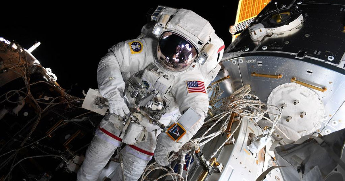Astronauts Add Docking Bay For Private Spaceships to Space Station