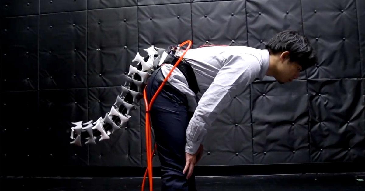 Amazing Robot Tail Helps You Balance