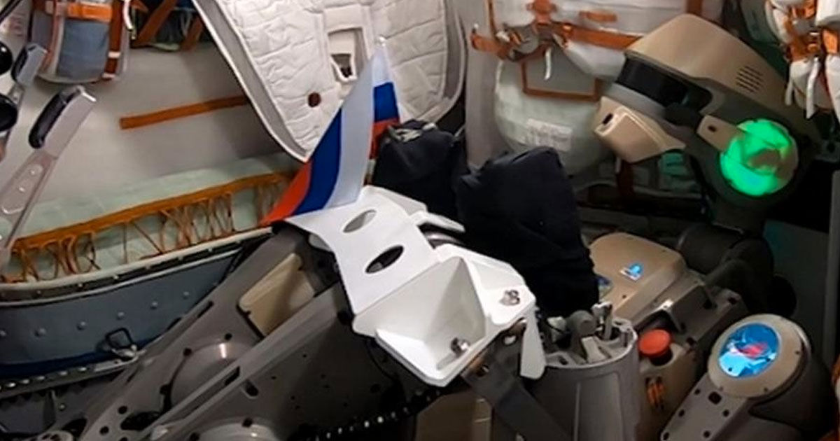 Russia Just Sent a Gun-Toting, Spacewalking Robot to the ISS