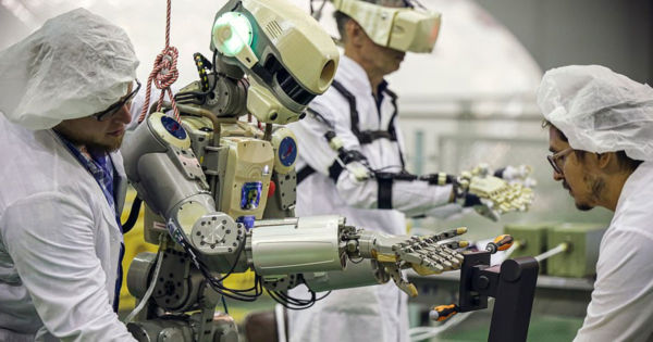 Russia's Gun-Shooting Robot Is Heading to the Space Station