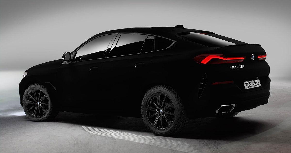 The Bmw Vantablack Car Get All The Details Futurism