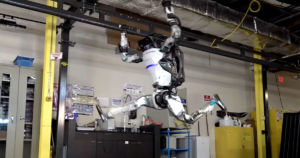 A new video uploaded by Boston Dynamics shows off the robotics company's humanoid robot called Atlas perform an impressive gymnastics routine.
