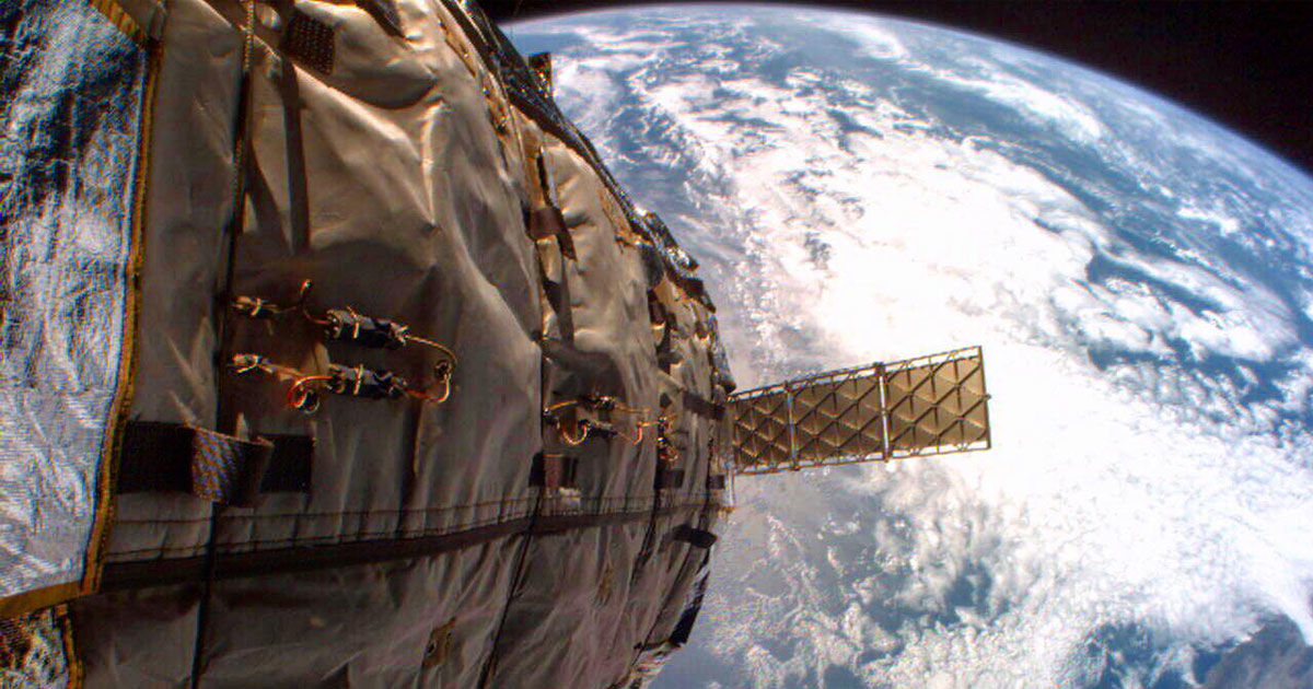 A Derelict Space Habitat May Crash Into an Old Russian Satellite