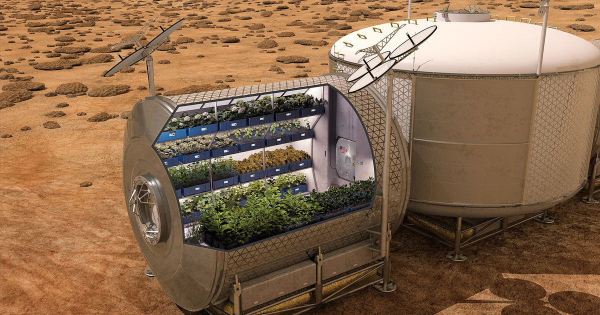 Here's How We Could Feed a Million People on Mars