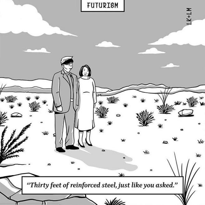 The new Futurism Cartoons book.