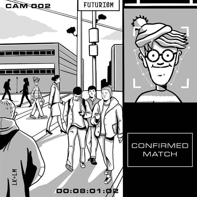 Cartoons from tomorrow, the new Futurism Cartoons book.
