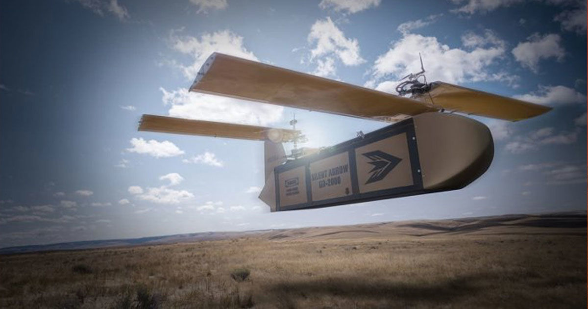 Gliding Delivery Drones Could Replace Military Airdrops