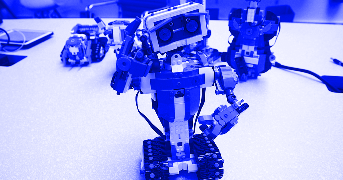 This LEGO Robot Is the Fun Way to Teach Your Kids About