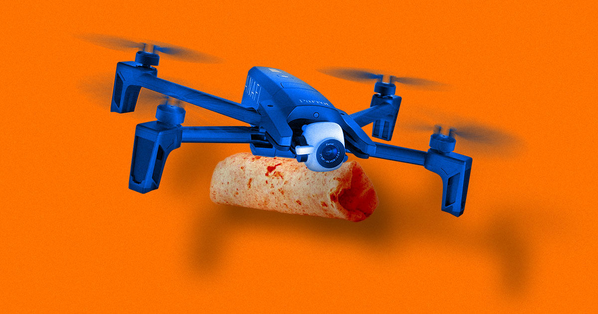 Why a Former Military Drone Pilot Now Steers Burrito Delivery Bots
