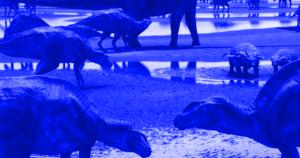 Coprolite dinosaur poop fossil jewelry.