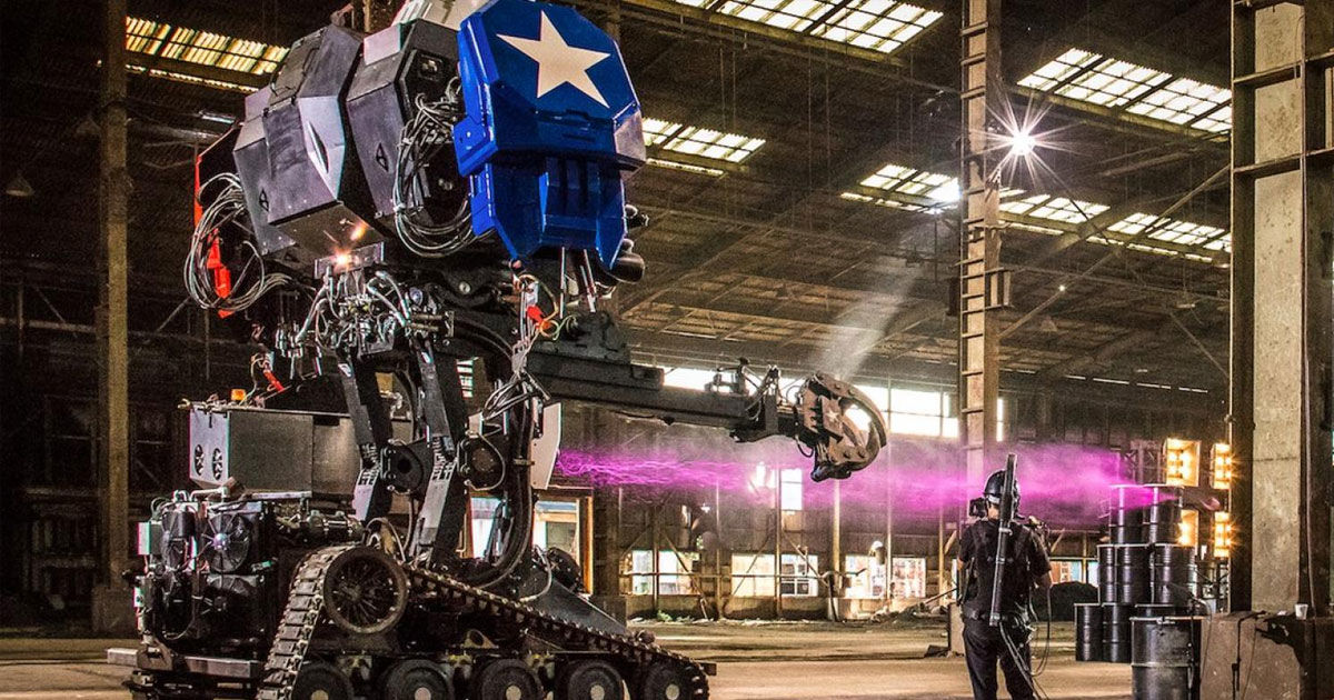 Someone's Selling a Functional 15-Ton Battle Mech on eBay