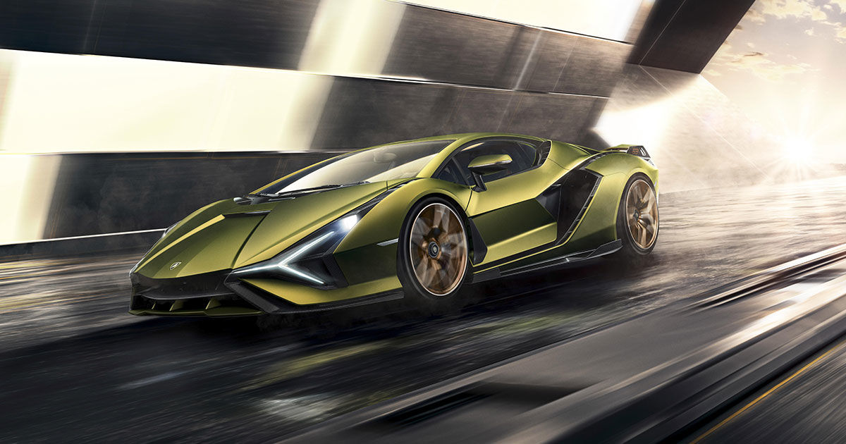 Lamborghini Debuts First Hybrid and It's an Absolute Beast