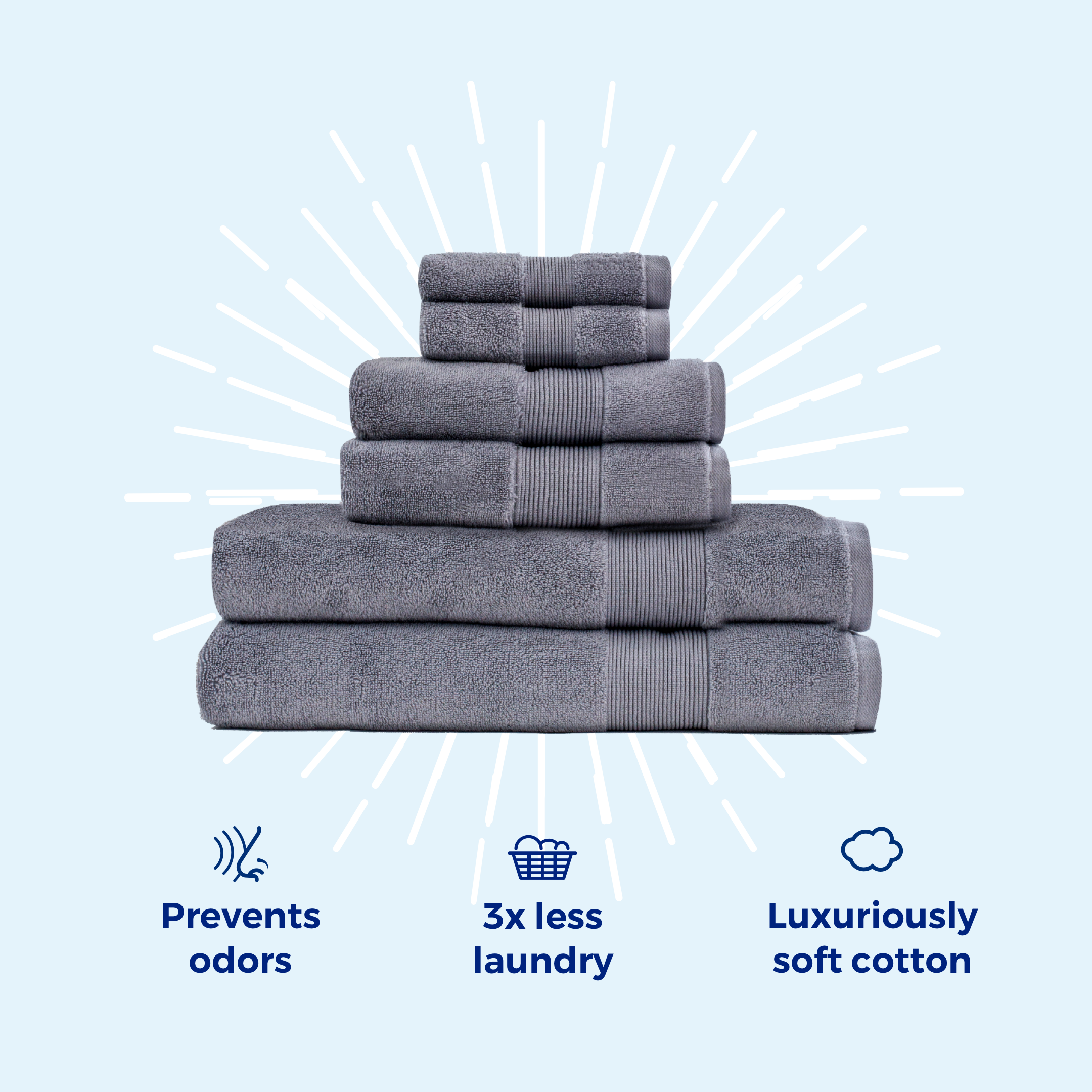 Miracle sheets and towels.