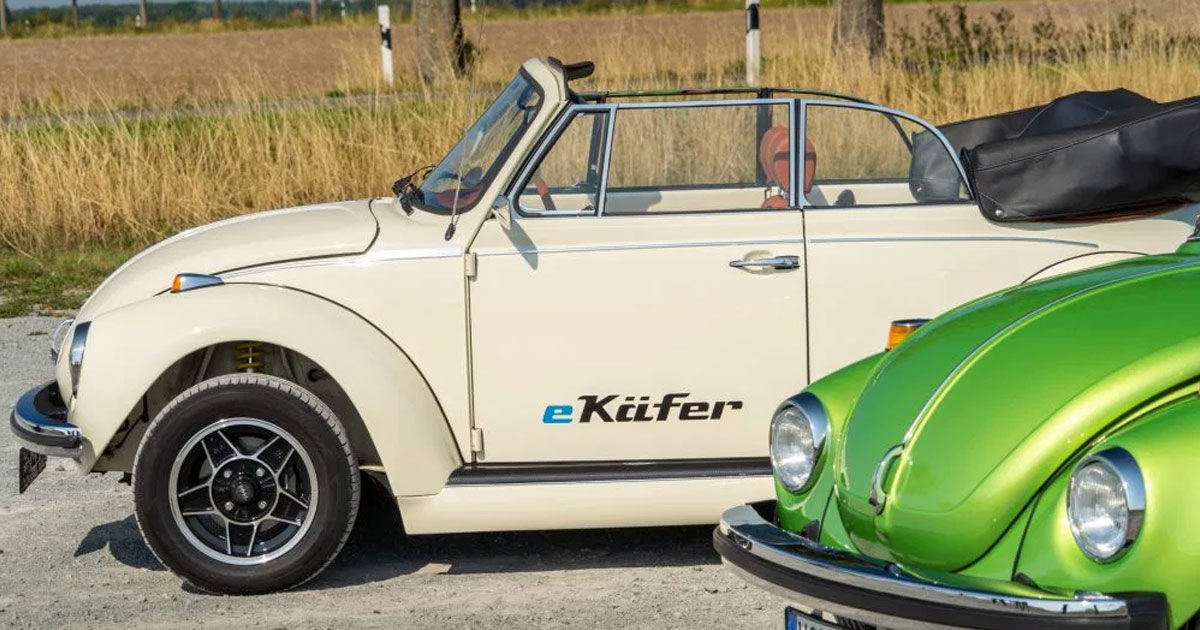 Volkswagen Will Convert Your Classic Beetle To Electric