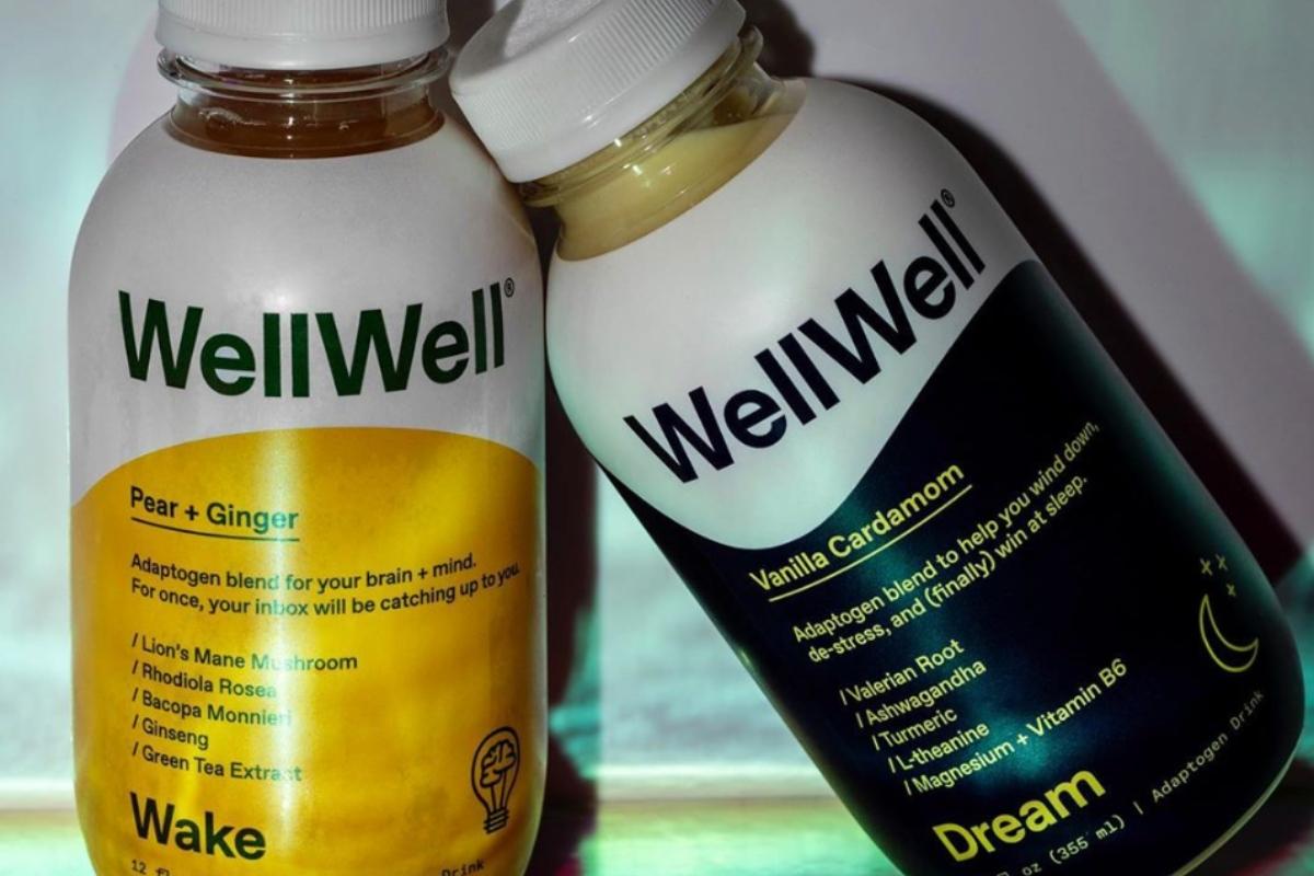 WellWell drinks help you sleep.