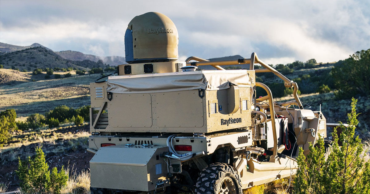 The Air Force Just Got a Brutal New Laser Cannon