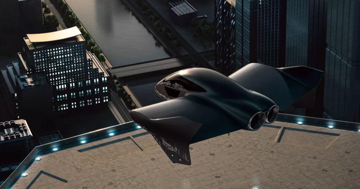 Billedresultat for porsche boeing flying car