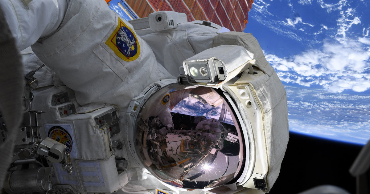 "Something ""Contaminated"" Spacesuit During NASA Spacewalk"