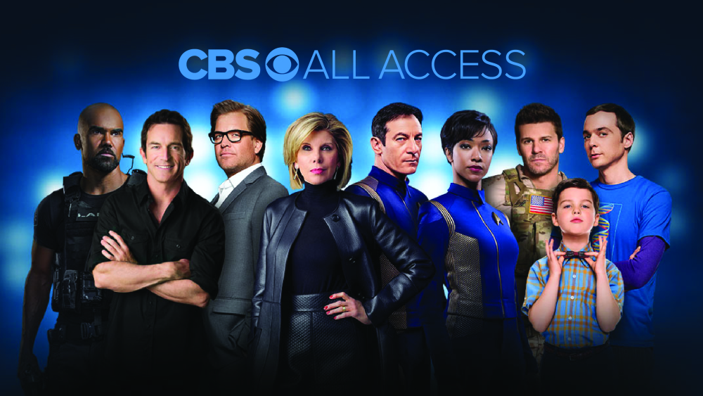 Try CBS All Access free.