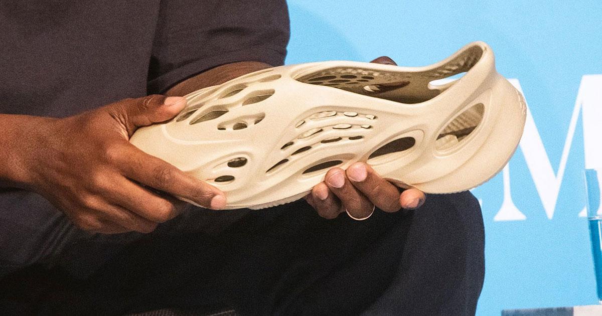 Kanye West Shares New Yeezy Foam