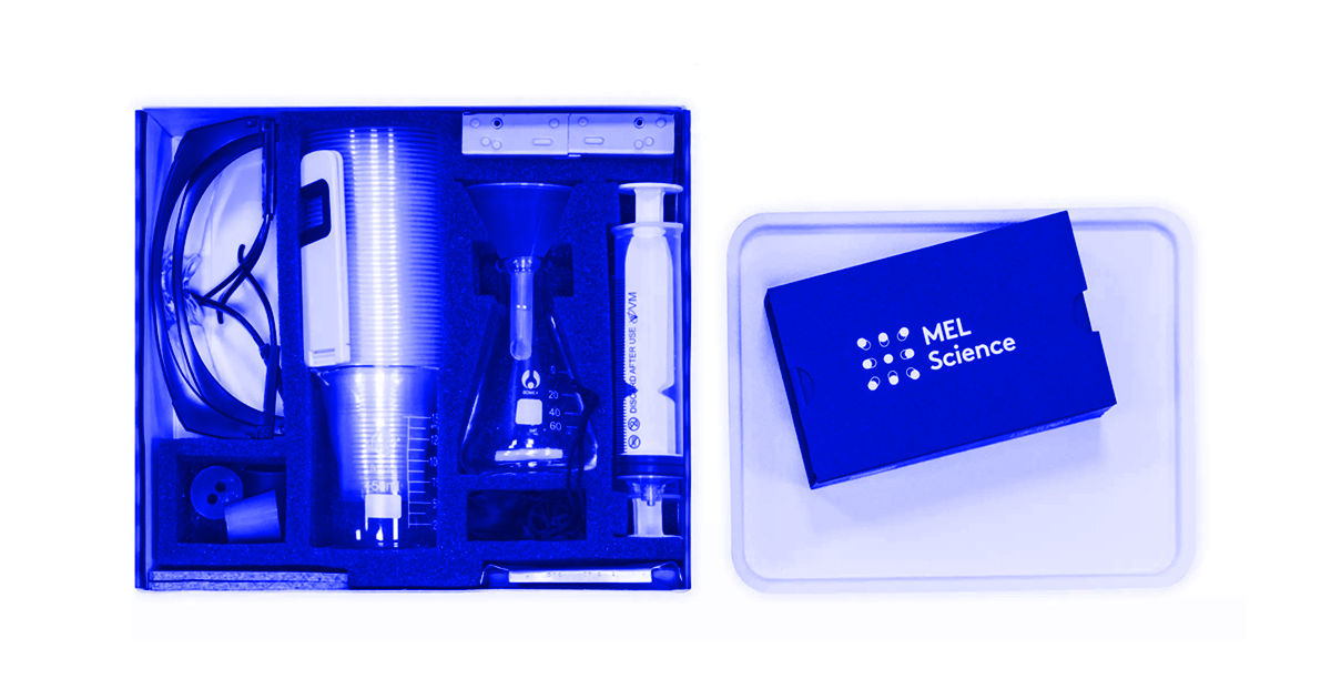 Chemistry kits from Mel Science are perfect for the mad scientist in your life