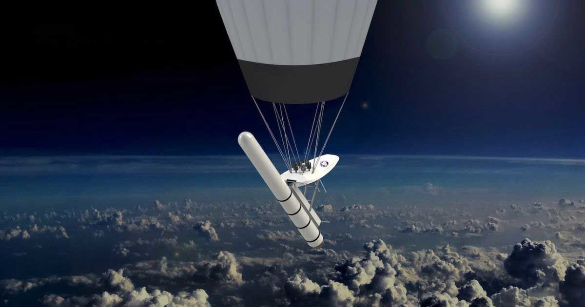 This Startup Wants to Launch Satellites from Balloons