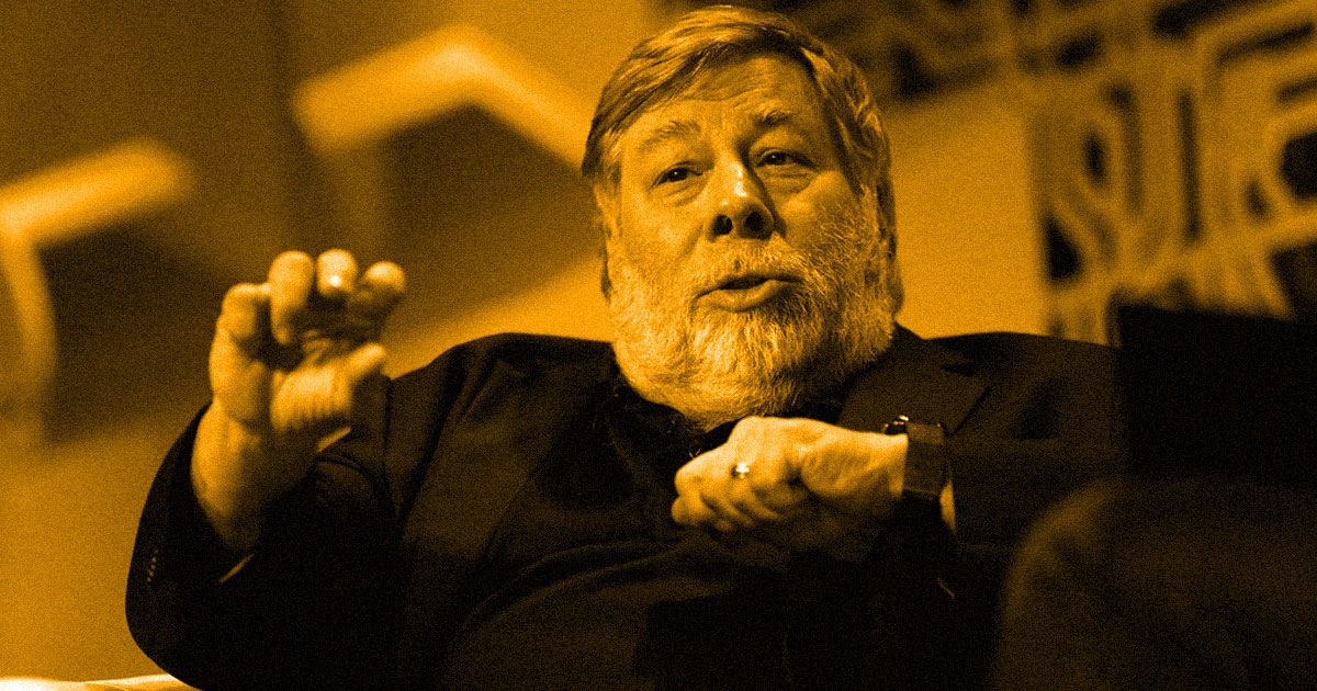 Steve Wozniak Says the Apple Card Discriminated Against His Wife