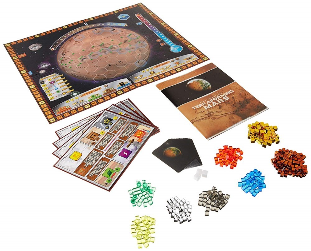 terraforming mars the game