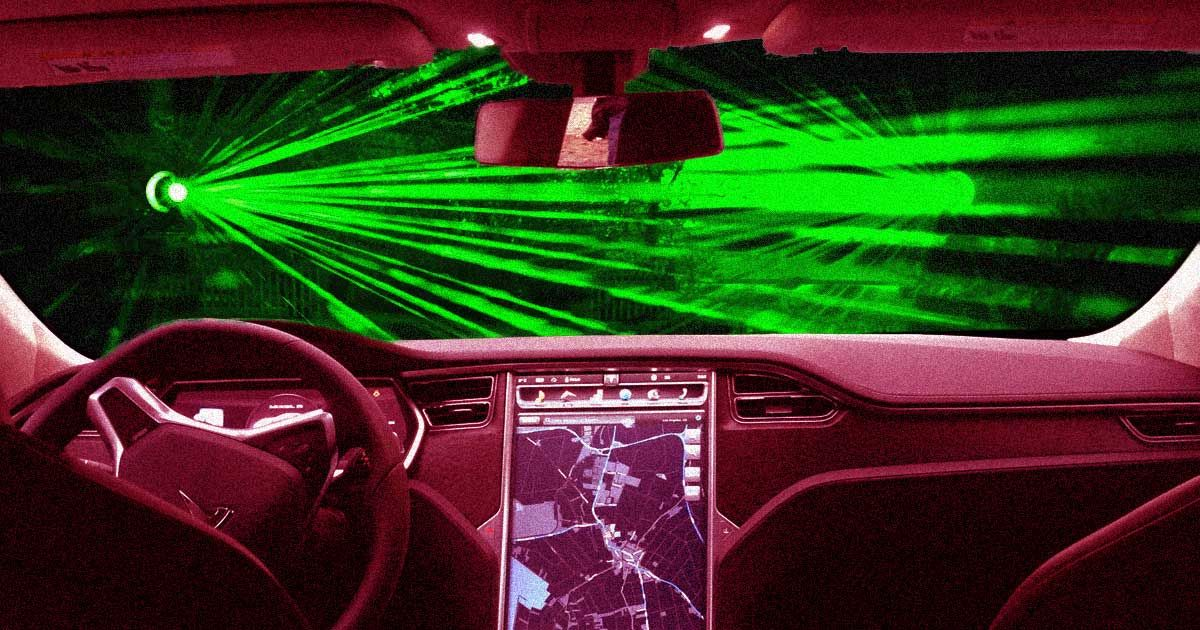 Tesla Wants To Replace Windshield Wipers With Lasers