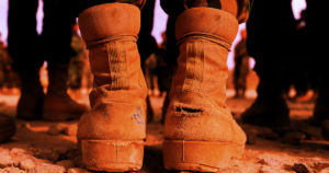 An Army research center patented bizarre boots that generates electricity every time a soldier takes a step, giving them a new way to power their gear.