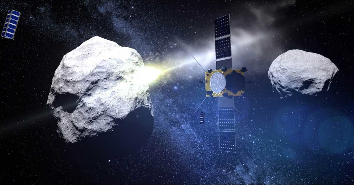 Europe's Space Agency Joins Mission to Deflect Killer Asteroids