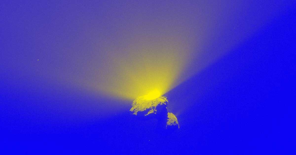 Watch NASA's New Footage of a Comet Exploding