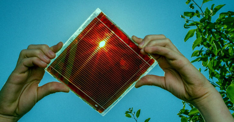 Scientists Are Working on Spray-On Solar Panels