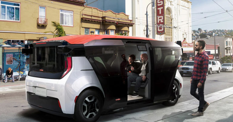 This Functioning Driverless Car Has No Driver's Seat