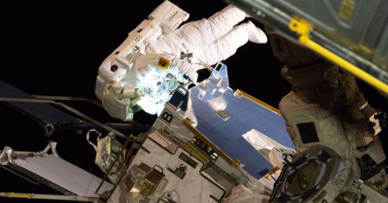 Piece of Astronaut's Spacesuit Falls Off During Spacewalk