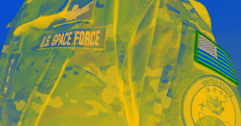 Space Force Unveils Camouflage Uniform, Sparking Twitter Frenzy