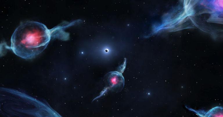 Strange Shape-Shifting Objects Found Near Milky Way's Black Hole