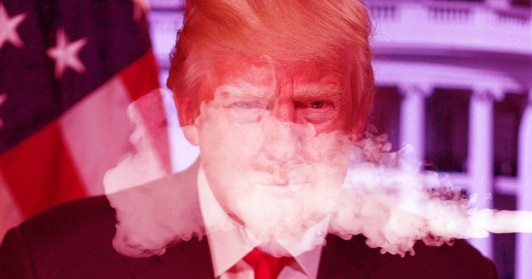 Trump Says He Now Regrets Pushing for Vape Ban