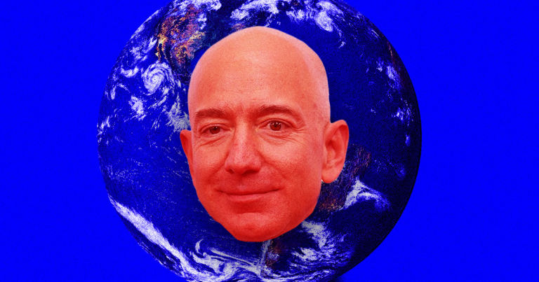 Bezos coughs up measly 7% of net worth to fight climate change