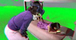 A video of a mother having a reunion with her deceased daughter in VR raises all sorts of questions about the future of grieving and mortality.