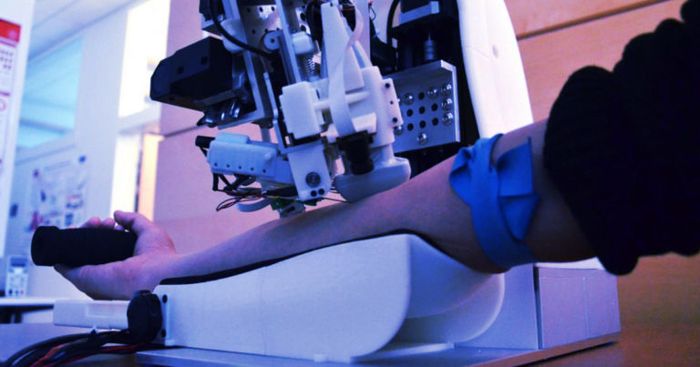Engineers Built an AI-Powered Robot to Take Your Blood