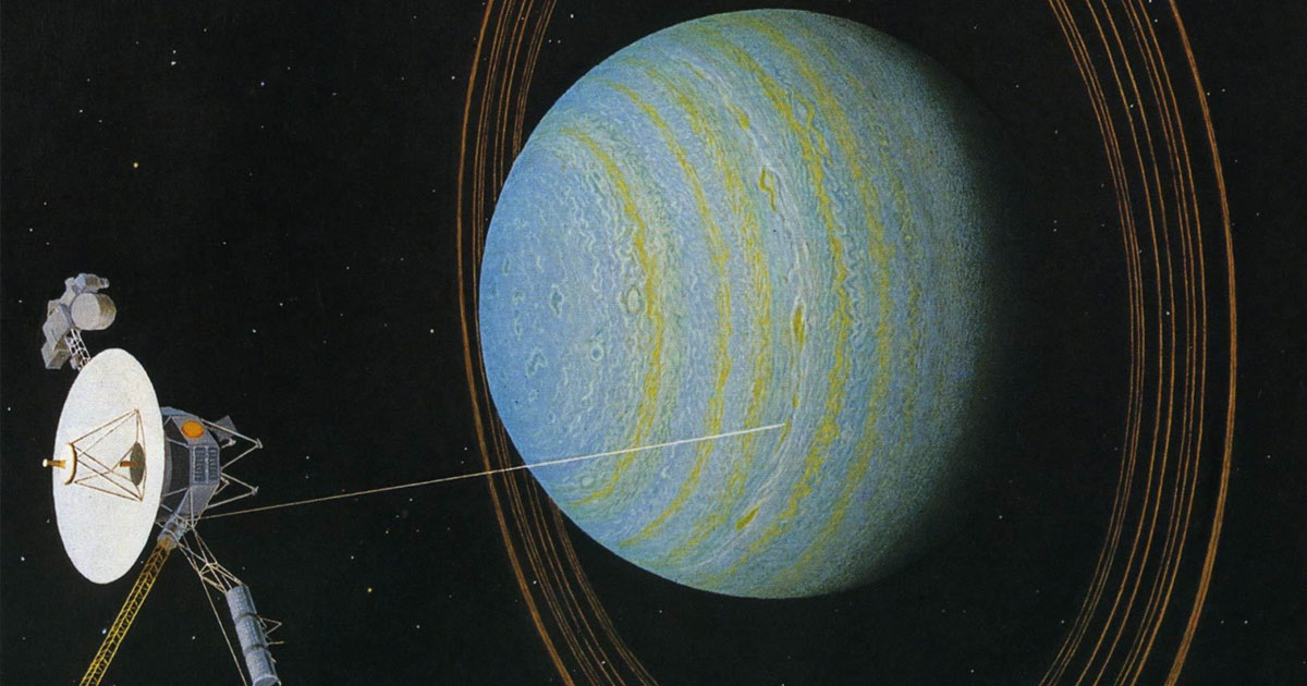 NASA data shows something leaking out of Uranus
