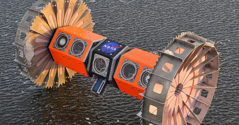 NASA built a robot to hunt aliens on ocean worlds