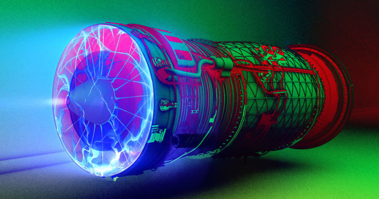 This scientist says he's built a jet engine that turns electricity directly into thrust