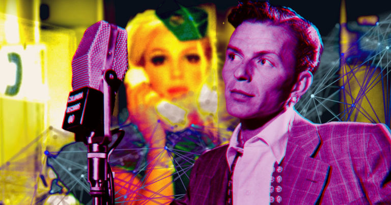 "Mind-melting AI makes Frank Sinatra sing ""Toxic"" by Britney Spears"
