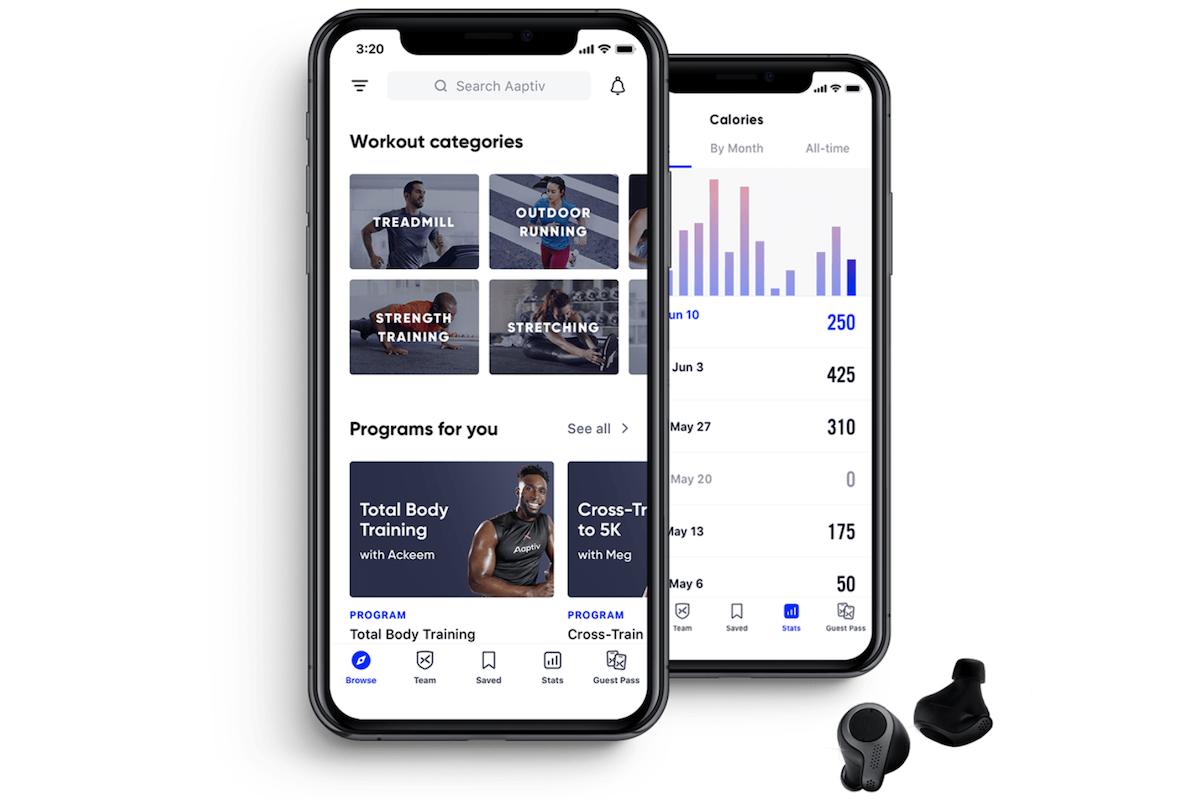 Workout App Aaptiv