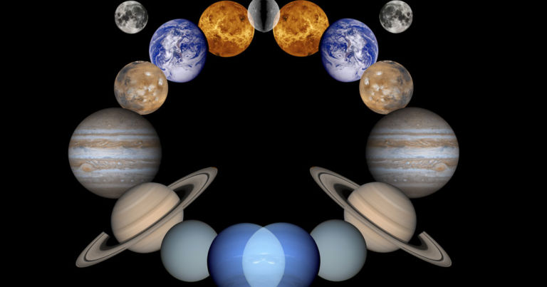 """Astronomers discover """"mirror image"""" of our solar system"""