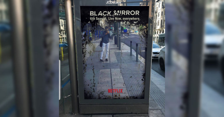 """Fake ad for """"Black Mirror Season 6"""" is just an actual mirror"""